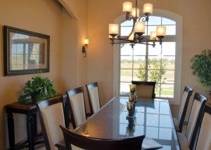 12' ceilings in Dining Room