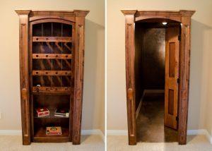 Hidden Wine Rack Room