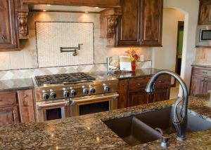 Premium kitchen fixtures and finishes