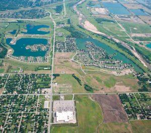 Aerial of The Moorings